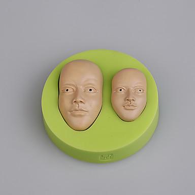 Bakeware eszközök Szilikon / Környezetkímélő Környezetbarát / DIY / Divat Jég / Csokoládé / Cupcake süteményformákba