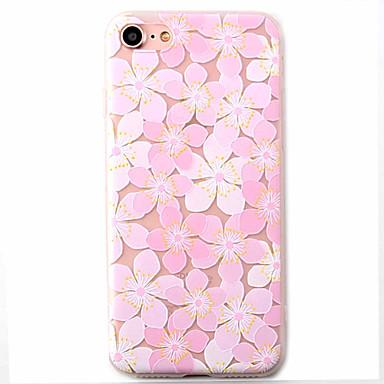 케이스 제품 Apple 패턴 뒷면 커버 꽃장식 소프트 TPU 용 아이폰 7 플러스 아이폰 (7) iPhone 6s Plus iPhone 6 Plus iPhone 6s 아이폰 6