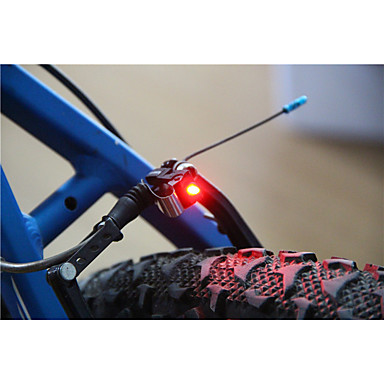 cheap Bike Lights-LED Bike Light Rear Bike Tail Light Safety Light Tail Light LED Cycling Small Size Super Light C-Cell 100 lm Battery Cycling / Bike