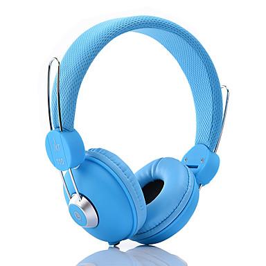 JKR JKR-110 A fülön Fejpánt Vezetékes Fejhallgatók Dinamikus Műanyag Mobiltelefon Fülhallgató Mikrofonnal HI-FI Zajszűrő Fejhallgató