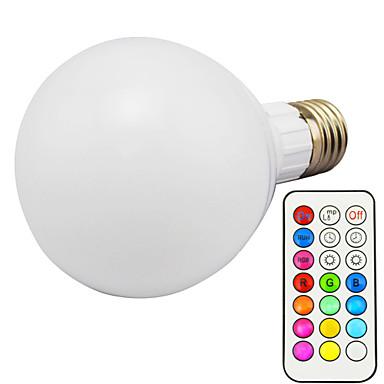 10 W 3000 lm E26/E27 Okos LED izzók G95 1 led Integrált LED Tompítható Távvezérlésű RGB AC 85-265V