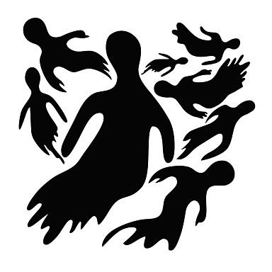 경치 휴일 벽 스티커 플레인 월스티커 데코레이티브 월 스티커 홈 장식 벽 데칼 벽 유리 / 욕실