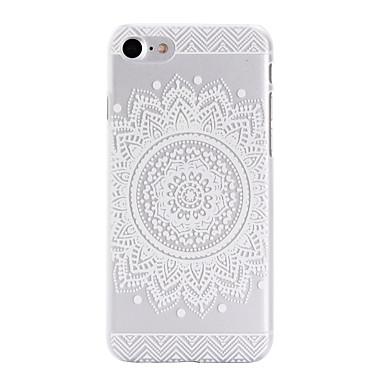 용 아이폰7케이스 / 아이폰7플러스 케이스 / 아이폰6케이스 패턴 케이스 뒷면 커버 케이스 꽃장식 하드 PC Apple아이폰 7 플러스 / 아이폰 (7) / iPhone 6s Plus/6 Plus / iPhone 6s/6 / iPhone