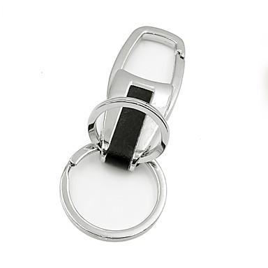 voordelige Sleutelhangers-ziqiao metalen auto standaard sleutelhanger sleutelhanger gift nobele voor auto styling