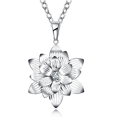 Dame Floare Personalizat Floral Γεωμετρικά Design Unic Stil Atârnat Clasic Vintage Boem De Bază Inimă Prietenie Ajustabile Adorabil