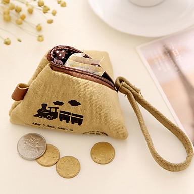 rizs gombóc tervezési vászon pénztárca véletlenszerű szín