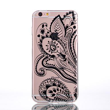 용 아이폰7케이스 / 아이폰7플러스 케이스 / 아이폰6케이스 투명 / 엠보싱 텍스쳐 / 패턴 케이스 뒷면 커버 케이스 꽃장식 소프트 TPU Meizu아이폰 7 플러스 / 아이폰 (7) / iPhone 6s Plus/6 Plus / iPhone
