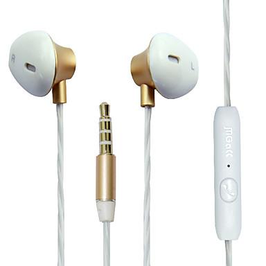 Magcc M8 EARBUD 유선 헤드폰 동적 모바일폰 이어폰 마이크 포함 헤드폰