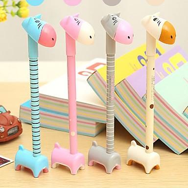 Gel Pen Toll Gél tollak Toll,Műanyag Hordó Kék Ink Colors For Iskolai felszerelés Irodaszerek Csomag PEN