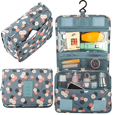 Travel Bag Hanging Toiletry Bag Travel Toiletry Bag Cosmetic Bag Travel Luggage Organizer / Packing Organizer Waterproof Dust Proof