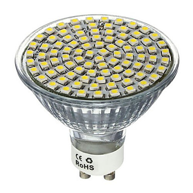 4w gu10 gx5.3 lumina reflectoarelor mr16 80 smd 2835 400-450lm cald alb rece 2700k / 6500k ac decorativ 220-240v