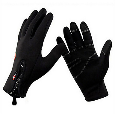 Sports Gloves Touch Gloves Bike Gloves / Cycling Gloves Keep Warm Wearable Wearproof Anti-skidding Protective Limits Bacteria Full-finger