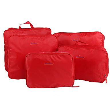 db285f8b46 5 σετ Τσάντα ταξιδιού   Οργανωτής ταξιδιών   Αξεσουάρ ταξιδίου και  αποσκευών Μεγάλη χωρητικότητα   Φορητό