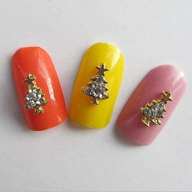 10 네일 쥬얼리 기타 장식 반짝이 금속 패션 러블리 고품질 일상
