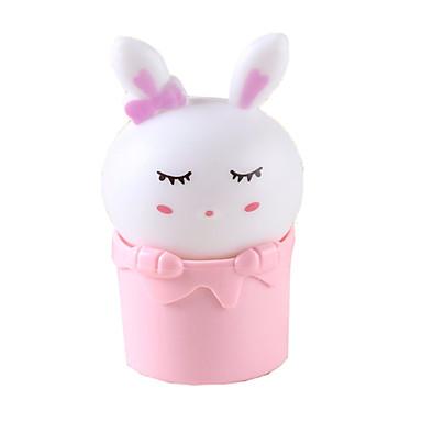 센서 제어 토끼 야간 조명 플러그 충전 벽 램프 침대 램프 아기 밤 램프 어린이 방 생일 선물을 주도