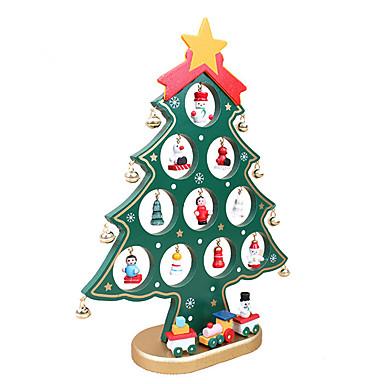 용 장식 크리스마스 선물 1 개 테이블 크리스마스 나무 장식 나무 크리스마스 트리