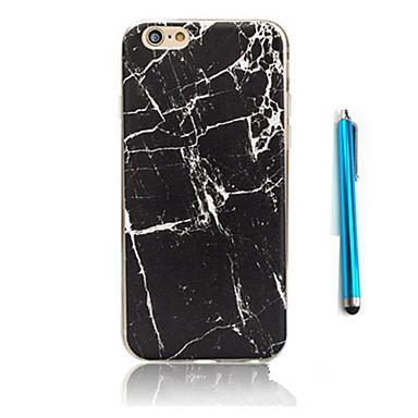 케이스 제품 Apple 아이폰5케이스 iPhone 6 iPhone 7 패턴 뒷면 커버 마블 소프트 TPU 용 iPhone 7 Plus iPhone 7 iPhone 6s Plus iPhone 6s iPhone 6 Plus iPhone 6