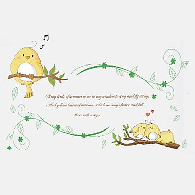 Dekoratív falmatricák - Word & Quotes Wall Stickers Divat / Botanikus / Mondások & Idézetek Nappali szoba / Hálószoba / Dolgozószoba /