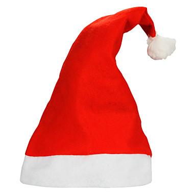 10pcs / lot dorosłych zwykłych Boże Narodzenie kapelusze Santa kapelusze dla dzieci na Boże Narodzenie cap rekwizytów firm