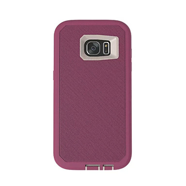 Case Kompatibilitás Samsung Galaxy S7 edge S7 Ütésálló Hátlap Páncél Puha TPU mert S7 edge S7 S6