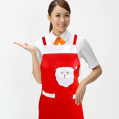 Boże Narodzenie towaru Święty Mikołaj fartuch kuchnia dostarcza ozdoby świąteczne
