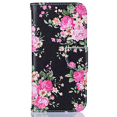 Case For Samsung Galaxy S7 edge S7 Card Holder Wallet with Stand Pattern Full Body Cases Flower Hard PU Leather for S7 edge S7 S6 edge S6