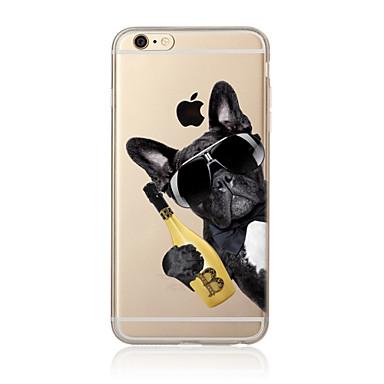 케이스 제품 Apple iPhone X iPhone 8 Plus iPhone 7 iPhone 6 아이폰5케이스 반투명 패턴 뒷면 커버 개 소프트 TPU 용 iPhone X iPhone 8 Plus iPhone 8 아이폰 7 플러스 아이폰 (7)