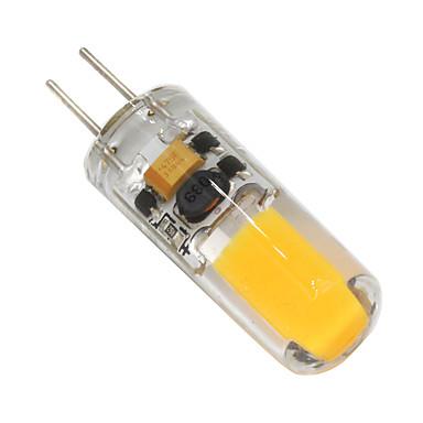 2W 160-200 lm G4 LED Bi-pin 조명 T 1 LED가 COB 밝기조절가능 따뜻한 화이트
