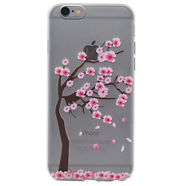 Case Kompatibilitás Apple iPhone 7 iPhone 6 iPhone 5 tok Minta Hátlap Fa Puha TPU mert iPhone 7 Plus iPhone 7 iPhone 6s Plus iPhone 6