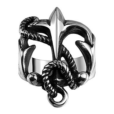 Ανδρικά Δαχτυλίδι Μοντέρνα Ανοξείδωτο Ατσάλι Τιτάνιο Ατσάλι Κοσμήματα Καθημερινά Causal Αθλητικά