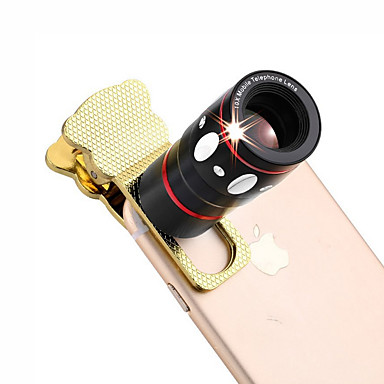4 az 1-ben univerzális bilincs kamera lencséje (teleobjektív / halszem objektív / nagylátószögű objektív / makró lencse)