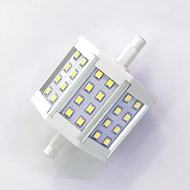 400 lm R7S LED kukorica izzók T 24LED led SMD 2835 Dekoratív Meleg fehér Hideg fehér AC 85-265V