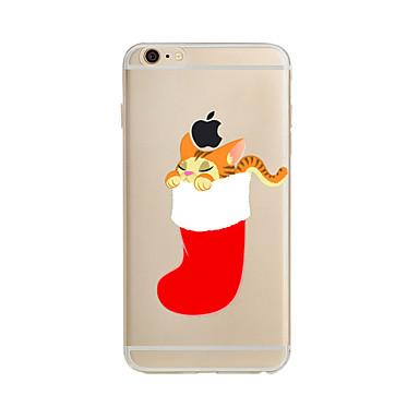 케이스 제품 Apple iPhone X iPhone 8 Plus iPhone 7 iPhone 6 아이폰5케이스 반투명 패턴 뒷면 커버 크리스마스 소프트 TPU 용 iPhone X iPhone 8 Plus iPhone 8 아이폰 7 플러스 아이폰