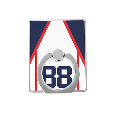 baseball kabát mintás műanyag gyűrűtartó / 360 forgó mobiltelefon iphone 8 7 samsung galaxis s8 s7