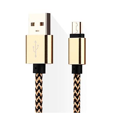 Micro USB 3.0 짜임 케이블 삼성 Huawei LG Nokia Lenovo Motorola Xiaomi HTC Sony 용 14*5*1cm나일론