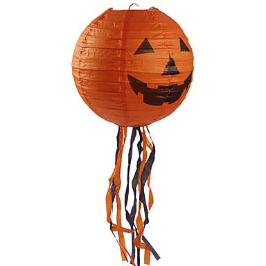 1db halloween hordozható lóg papír lámpa dekoratív kellékek kellékek