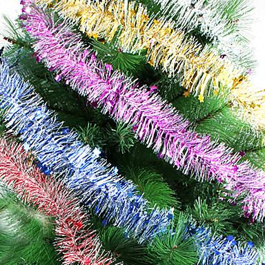 długość 2 m Narodzenie rribbon 2m wełny topy girlandy choinki szyfrowanie dekoracji wstążki