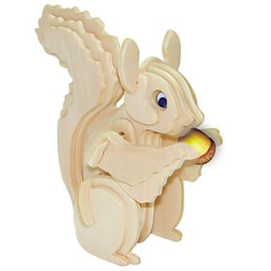 나무 퍼즐 다람쥐 전문가 수준 나무 크리스마스 카니발 어린이날 여아 남아 선물