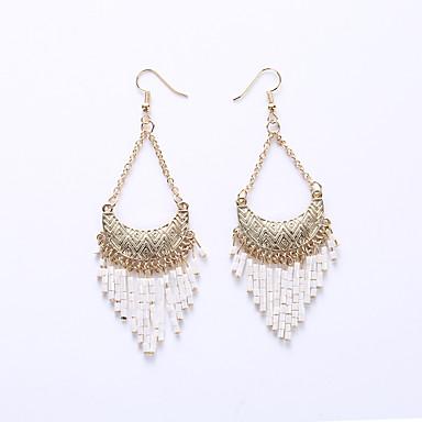 여성 드랍 귀걸이 귀걸이 보석류 패션 유럽의 의상 보석 합금 보석류 제품 결혼식 파티 일상