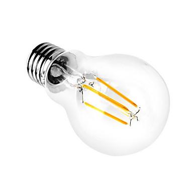 1pc 3000/6000 lm E26/E27 LED-bollampen A60 (A19) 4 leds COB Decoratief Warm wit Koel wit AC 110-130V AC 220-240V