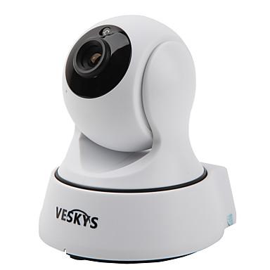 Veskys® t4 720p 1.0mp wi-fi zabezpieczenie aparatu ip (wykrywanie nocy / wykrywania ruchu / zdalnego dostępu / ir-cut / plug and play)