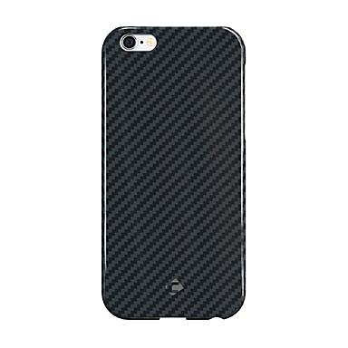 إلى ضد الصدمات غطاء غطاء خلفي غطاء لون صلب قاسي ألياف الكربون إلى Apple iPhone 6s Plus/6 Plus iPhone 6s/6