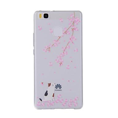 Για Με σχέδια tok Πίσω Κάλυμμα tok Γάτα Μαλακή TPU για HuaweiHuawei P9 / Huawei P9 Lite / Huawei P8 / Huawei P8 Lite / Huawei Y635 /