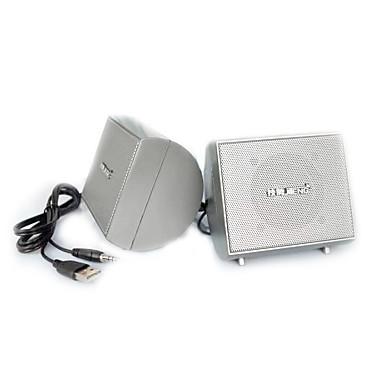 Kitaplık bilgisayar hoparlörü 2.0 CH Taşınabilir / Stereo / Mini / Süper bas