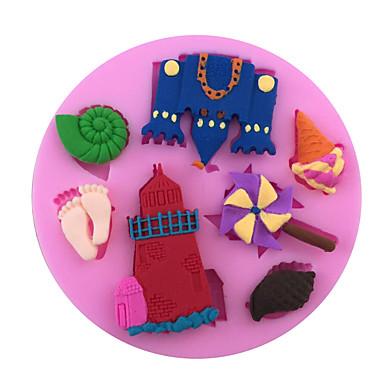 1 Silikoni paistopinnan for Cake / for Leipä / for Cookie / for Cupcake / for Pie / for Pizza / Other / for Ice / Suklaa Korkealaatuinen