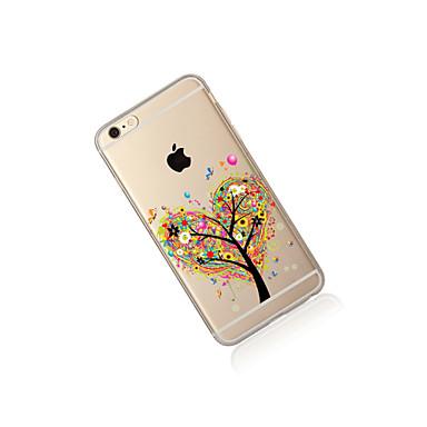 Albero Per iPhone iPhone TPU disegno 7 8 X 05425270 Plus 8 Custodia Apple Plus iPhone Transparente retro Per iPhone 8 X iPhone Fantasia Morbido iPhone per 6UddIqw