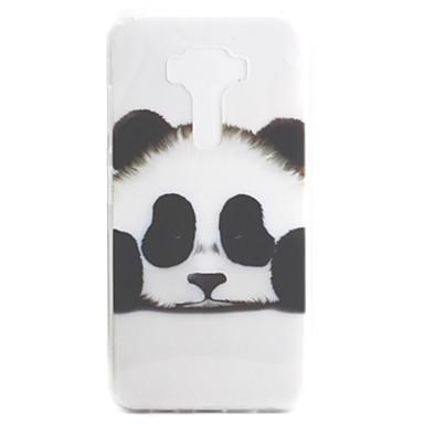 Asus zenfone için 3 ze552kl zenfone 3 ze520kl kılıf örtüsü panda deseni yüksek geçirgenlik boyama tpu malzeme telefon kılıfı