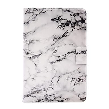 Για Θήκη καρτών / Οριγκάμι tok Πίσω Κάλυμμα tok Μάρμαρο Σκληρή Συνθετικό δέρμα για Apple iPad Mini 4 / iPad Mini 3/2/1