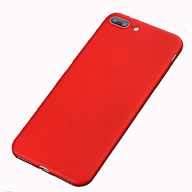 Kılıf Na Apple iPhone 8 iPhone 8 Plus iPhone 6 iPhone 7 Plus iPhone 7 Odporne na wstrząsy Szron Pełne etui Solid Color Twarde PC na