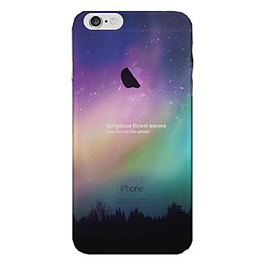 Käyttötarkoitus iPhone 8 iPhone 8 Plus iPhone 7 iPhone 6 iPhone 5 kotelo kotelot kuoret Läpinäkyvä Takakuori Etui Taivas Scenery Pehmeä